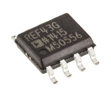 Analog Devices REF43GSZ, Fixed Series Voltage Reference 2.5V, ±0.1 % 8-Pin, SOIC