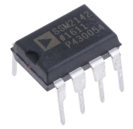 Analog Devices SSM2142PZ, Differential ADC Driver 8-Pin PDIP