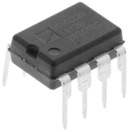 Analog Devices SSM2220PZ Dual PNP Transistor, 20 mA, 36 V, 8-Pin PDIP