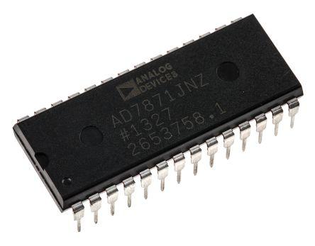 14bit A-Dconverter,AD7871JN DIL28 83ksps