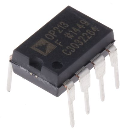 Analog Devices OP213FPZ, Dual Op Amp, 3.5MHz, 5 V, 8-Pin PDIP
