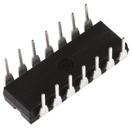 AD650JNZ, Voltage to Frequency Converter, Non-Synchronous, 1000kHz ±0.05%FSR, 14-Pin PDIP