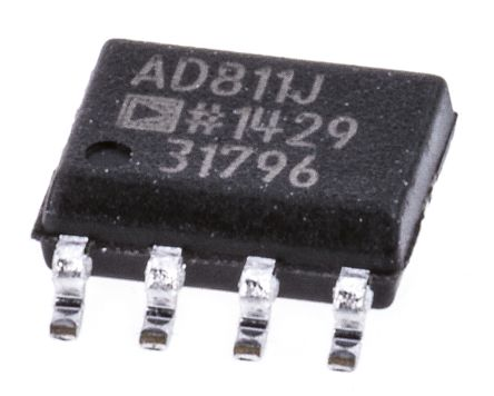 Analog Devices AD811JRZ, Video Amp 2500V/μs, 8-Pin SOIC