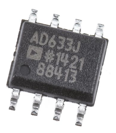AD633JRZ Analog Devices, 4-quadrant Voltage Multiplier, 1 MHz, 8-Pin SOIC