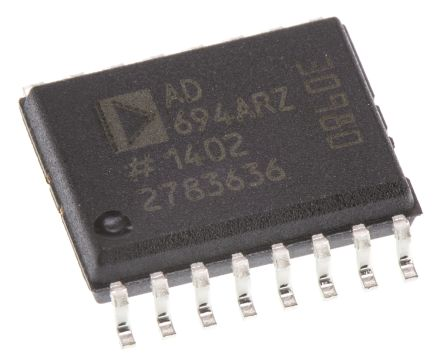 Analog Devices AD694ARZ 0 → 20 mA, 4 → 20 mA Current Loop Transmitter 16-Pin SOIC W