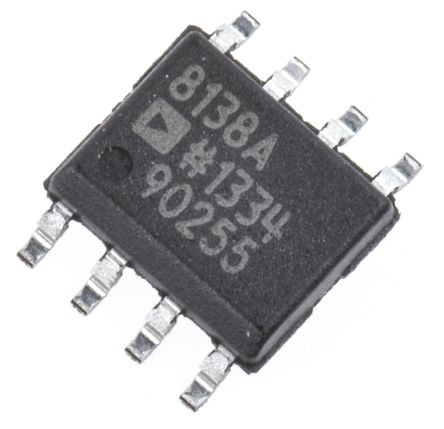 AD8138ARZ Analog Devices, Differential ADC Driver 3 V, 5 V, 9 V 8-Pin SOIC