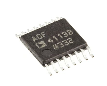 Analog Devices ADF4113BRUZ, Frequency Synthesizer, 16-Pin CP 20