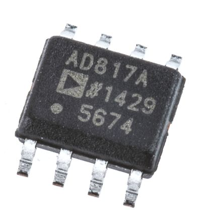 Analog Devices AD817ARZ Op Amp, 35MHz, 6 → 28 V, 8-Pin SOIC