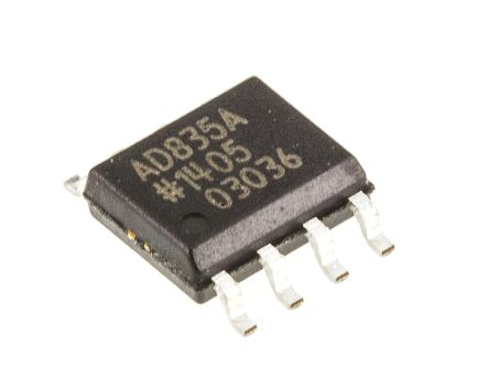 AD835ARZ Analog Devices, 4-quadrant Voltage Multiplier, 250 MHz, 8-Pin SOIC