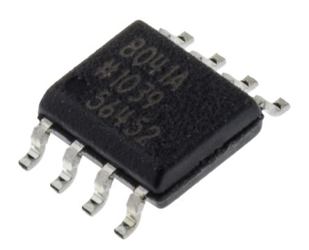 Analog Devices AD8041ARZ, Video Amp 160V/μs Rail to Rail O/P, 8-Pin SOIC