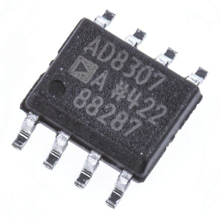 Analog Devices AD8307ARZ, Log Amplifier, 3 V, 5 V Rail to Rail Output Rail to Rail, 8-Pin SOIC