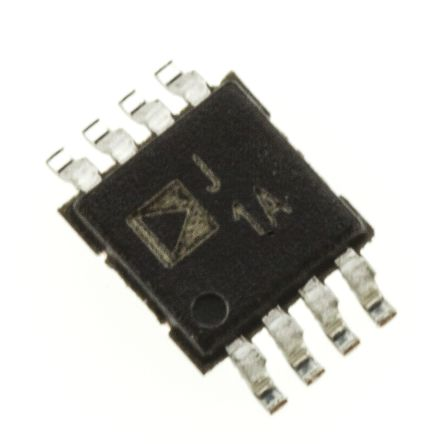 Analog Devices AD8313ARMZ, Log Amplifier, 3 V, 5 V Rail to Rail Output Rail to Rail, 8-Pin MSOP