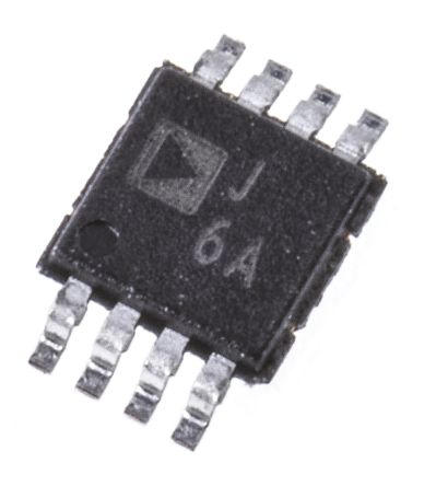 Analog Devices AD8310ARMZ, Log Amplifier, 3 V, 5 V Rail to Rail Input, 8-Pin MSOP