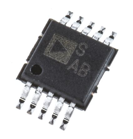 Analog Devices ADG736BRMZ, Analogue Switch Dual SPDT, 3 V, 5 V, 10-Pin MSOP