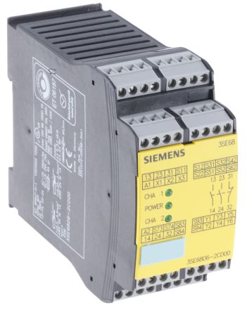 3tk2825-1bb40 | siemens 24 v dc safety relay dual channel with 3.