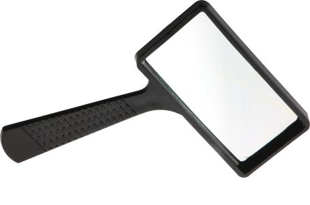 RS PRO Pocket Magnifying Glass, 3X x Magnification, 100 x 50mm Diameter