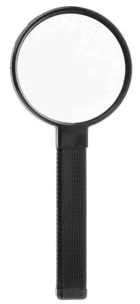 RS PRO Pocket Magnifying Glass, 5 x Magnification, 70mm Diameter