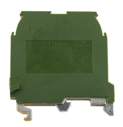 Entrelec, SNA Series , 800 V ac Earth Terminal Block, Screw Termination