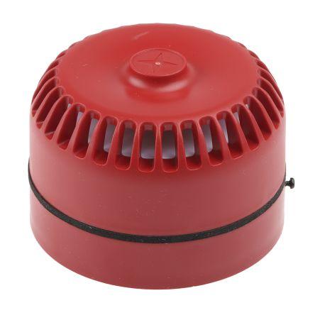 Roshni Red 32 Tone Electronic Sounder, 9 → 28 V dc, 102dB at 1 Metre