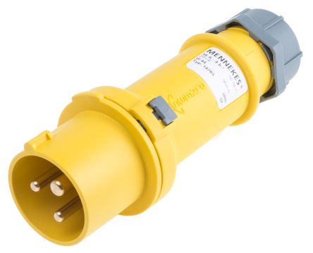 1 x CEE form  110 Volt Yellow Plug