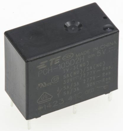 PCH Series Relay,1CO,10A 120ac,5dc 400mW