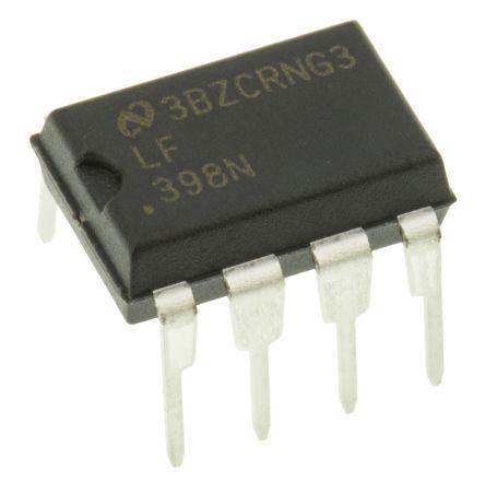LF398N/NOPB, Sample & Hold Circuit, 20μs Dual Power Supply, 8-Pin MDIP