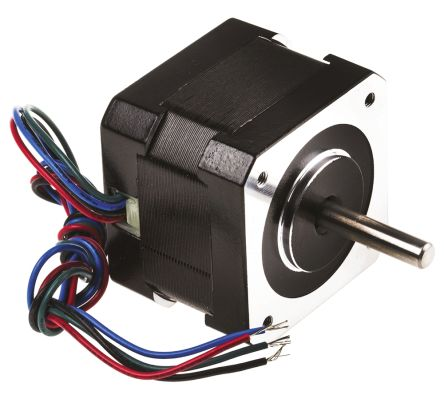 RS Pro Hybrid, Permanent Magnet Stepper Motor 0.9°, 0.22nm, 2.8 V, 1.33 A, 4 Wires