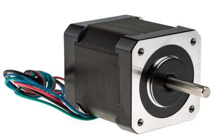 RS PRO Hybrid Stepper Motor 0.9°, 0.44Nm, 2.8 V, 1.68 A, 4 Wires