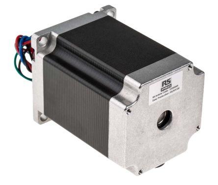 RS Pro Hybrid, Permanent Magnet Stepper Motor 1.8°, 1.89nm, 3.2 V, 2.8 A, 4 Wires