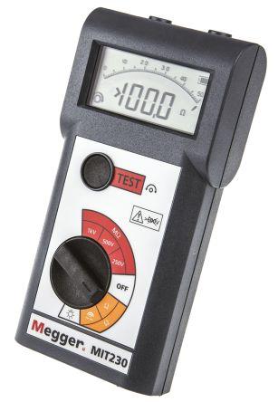 Megger MIT230, Insulation Tester 999MΩ CAT III 300 V