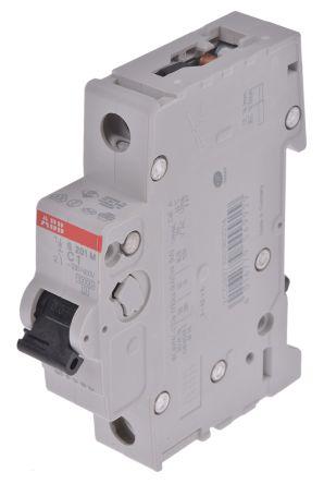 System M Pro S200 MCB Mini Circuit Breaker 1P, 1 A, 10 kA, Curve C