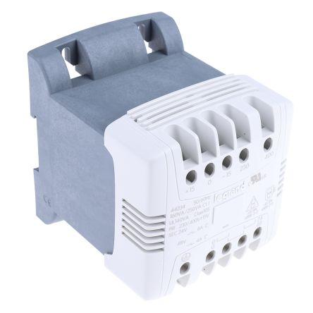 Legrand 160VA DIN Rail Transformer, 230V ac, 400V ac Primary, 24V ac Secondary