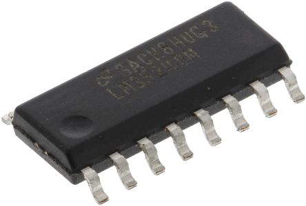 LM3524DM/NOPB, Dual PWM Voltage Mode Controller, 200 mA, 350 kHz 16-Pin, SOIC product photo
