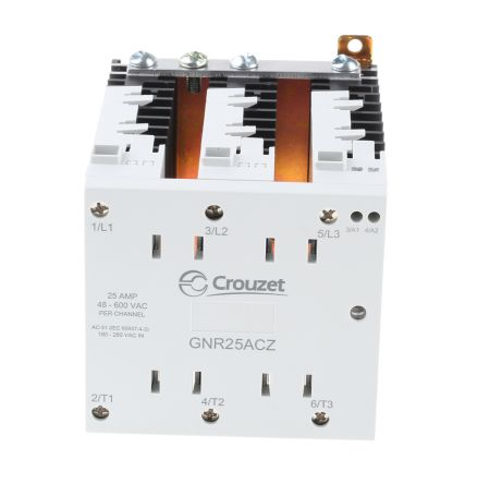 Crouzet Solid State Relay Zero Crossing GNR25ACZ RS Components
