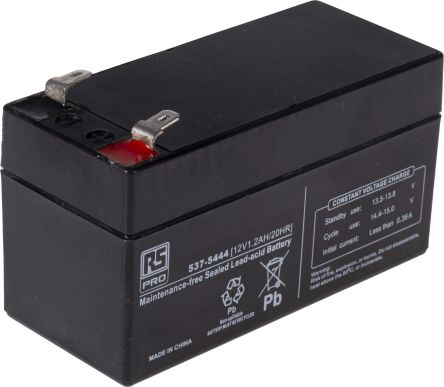 Lead Acid Battery >> Rs Sealed Lead Acid Battery 12v 1 2ah