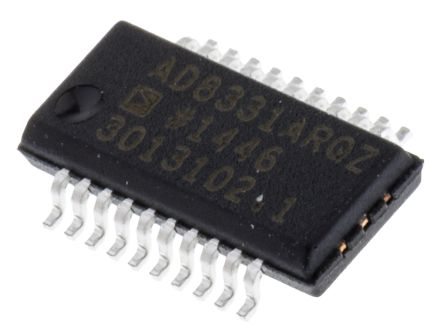 Analog Devices AD8331ARQZ, Programmable Gain Amplifier, 20-Pin QSOP