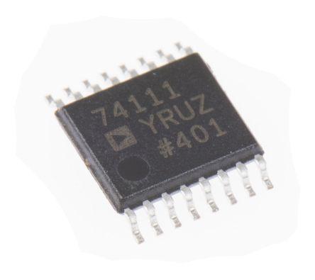 Analog Devices, Audio Codec Mono-channel 24bit- 48ksps Serial 16-Pin TSSOP