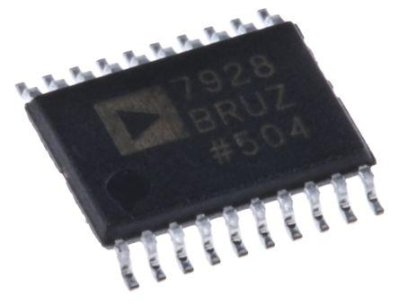 Analog Devices AD7928BRUZ, 12-bit Serial ADC, 20-Pin TSSOP