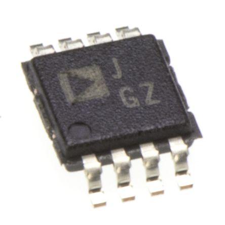 Amplificador de diferencial AD628ARMZ 12 V, 15 V, 18 V, 24 V, 28 V, 5 V, 9 V 2-Canales MSOP, 8-Pines
