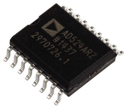AD524ARZ-16 , Instrumentation Amplifier, 0.25mV Offset 25MHz, 16-Pin SOIC W product photo