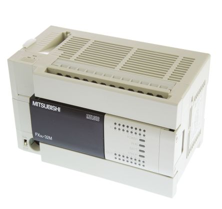 Mitsubishi FX3U Series Logic Module, 100 → 240 V ac Relay, 16 x Input, 16 x  Output Without Display