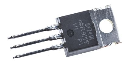 N-Channel MOSFET, 49 A, 55 V, 3-Pin TO-220AB Infineon IRFZ44NPBF