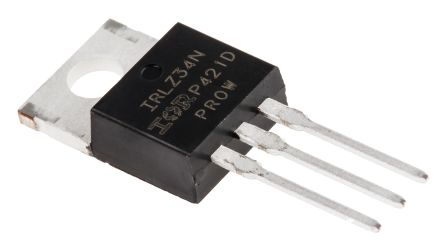 IRLZ34NPBF N-Channel MOSFET, 30 A, 55 V HEXFET, 3-Pin TO-220AB Infineon