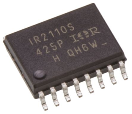 Infineon IR2110SPBF Dual High and Low Side MOSFET Power Driver, 2.5A 16-Pin, SOIC W