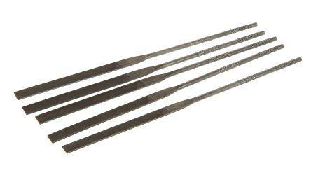RS PRO 160mm Single Cut HCS Hand Needle File