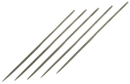 RS PRO 160mm Single Cut HCS Three Square Needle File