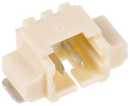 Molex, PicoBlade, 53261, 2 Way, 1 Row, Right Angle PCB Header