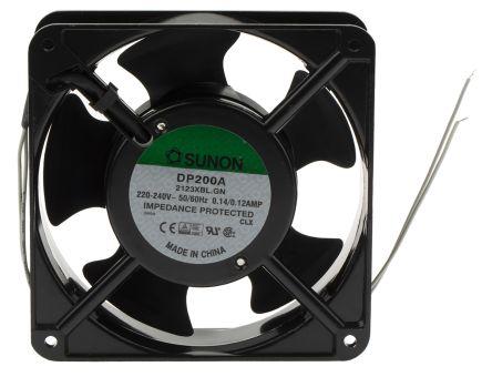 Sunon DP Series Axial Fan, 120 x 120 x 38mm, 199m³/h, 21W, 220 → 240 V ac