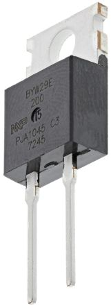 WeEn Semiconductors Co., Ltd 200V 8A, Diode, 2-Pin TO-220AC BYW29E-200