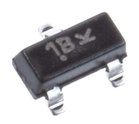ON Semi BC846BLT1G NPN Transistor, 100 mA, 65 V, 3-Pin SOT-23